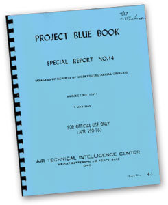 project blue book special report no 14