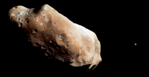 Ida and Dactyl - Asteroid and Moon. Picture Credit - NASA, JPL, Galileo Project