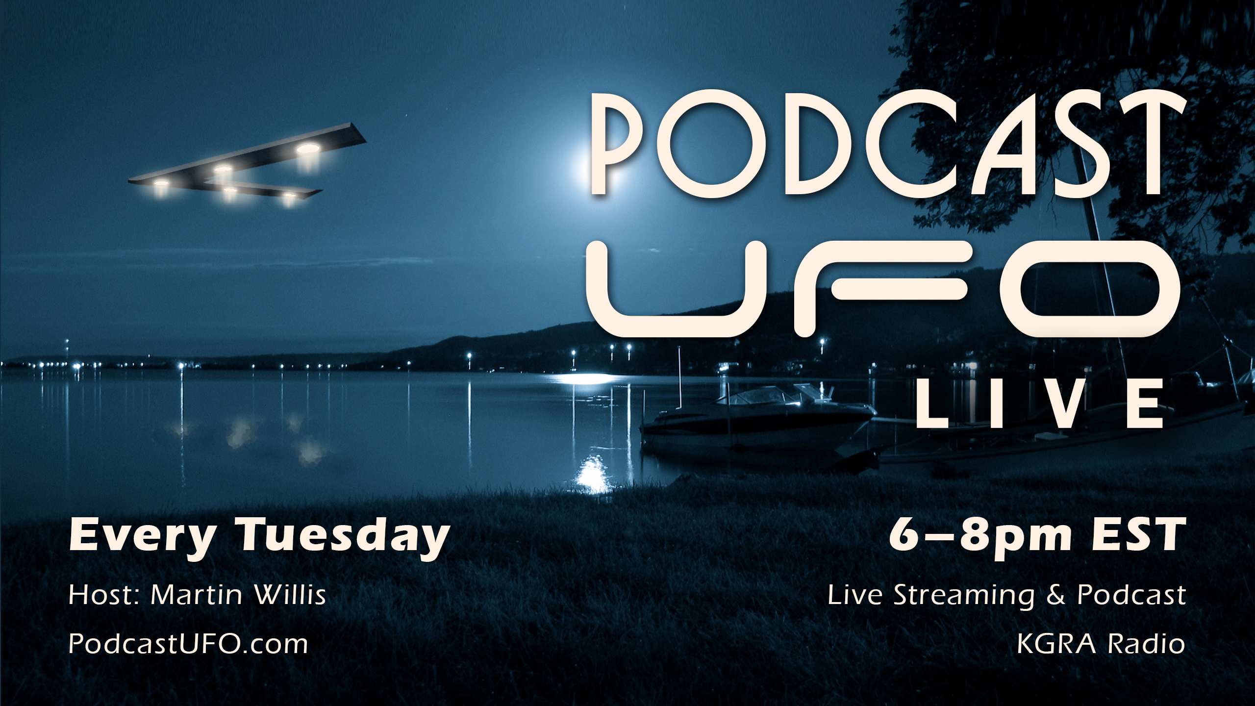 Podcast UFO – An Internet Live Stream Show & Podcast Related